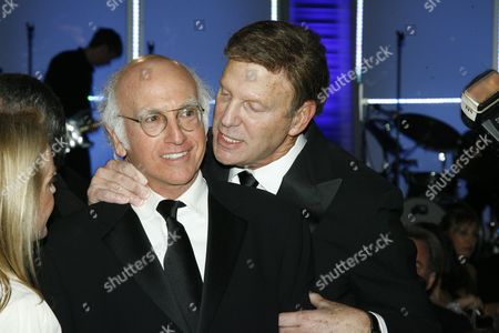 Larry David and Bob Einstein (aka Super Dave Osborne)