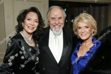 Jolene and George Schlatter and Jane Weintraub