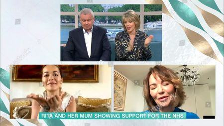 Eamonn Holmes and Ruth Langsford and Rita Ora and Vera Sahatciu