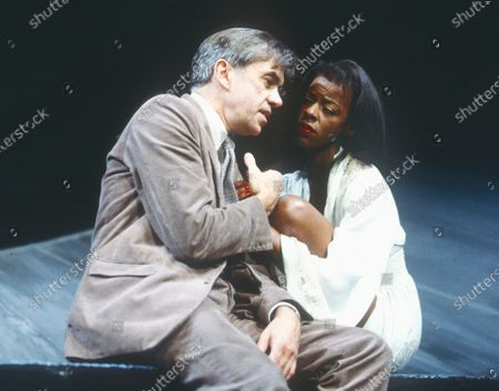 Editorial image of 'After the Fall' Play performed in the Cottesloe Theatre, at the National Theatre, London, UK 1990 - 09 Apr 2020