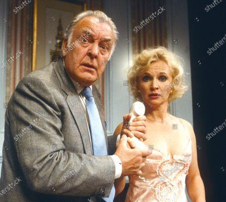 Stock Picture of Donald Sinden, Sandra Dickenson.