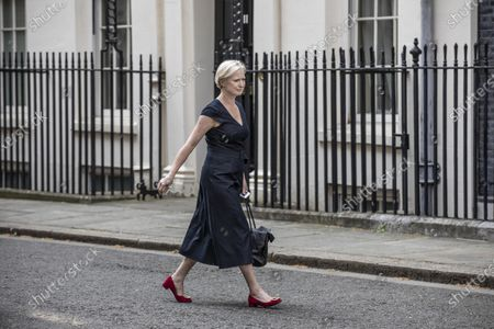 Stock Photo of Dr Ruth May, Chief Nursing Officer arrives for Good Friday's press briefing at Downing Street