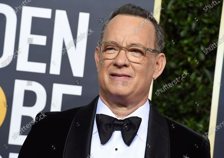 Tom Hanks arrives at the 77th annual Golden Globe Awards at the Beverly Hilton Hotel in Beverly Hills, Calif. For the first time in its lengthy history, 'Saturday Night Live' held an all-quarantine version, which aired Saturday, April 11 with stars delivering taped material primarily from their homes. Coronavirus pioneer Hanks was the guest host, with Chris Martin the musical guest and cameos from Larry David portraying Bernie Sanders and Alec Baldwin as President Donald Trump