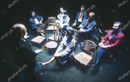 Robert Lepage, Micheal Benson, Normand Bissonnette, Richard Frechette  and Marie Gignac