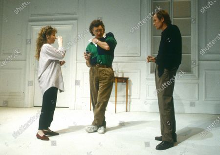 Stock Image of Cheryl Campbell. Martin Shaw. Bill Nighy