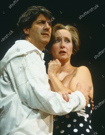 """Editorial image of """"Ride Down Mt Morgan' Play performed at Wyndham's Theatre, London, UK 1991 - 14 Apr 2020"""