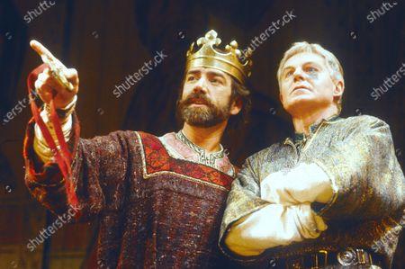 Robert Lindsay. Derek Jacobi