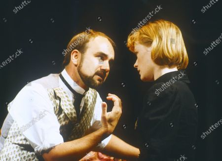 Stock Picture of David Haig. Claire Skinner