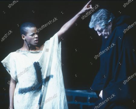 Editorial photo of 'The White Devil' Play performed at the National Theatre, London, UK 1991 - 14 Apr 2020
