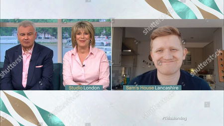Ruth Langsford and Eamonn Holmes and Sam Aston