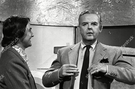Bob Monkhouse and David Tomlinson