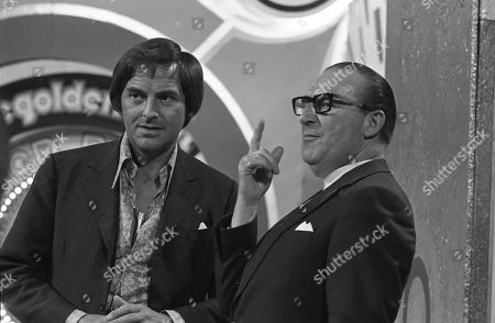 Bob Monkhouse with Charlie Chester