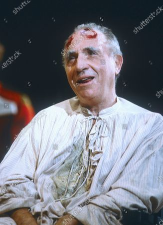 Editorial picture of 'The Madness of George III' Play performed at the National Theatre, London, UK 1991 - 15 Apr 2020