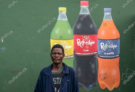Editorial picture of Food parcel deliveries photo set, Cape Town, South Africa - 15 Apr 2020
