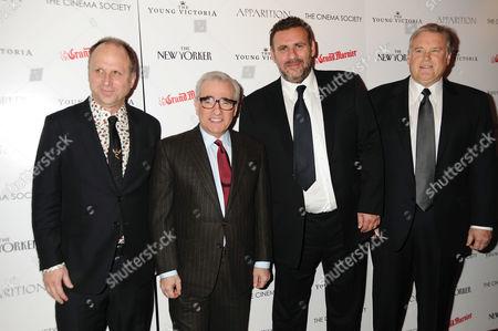 Bob Berney, Martin Scorsese, Graham King, Tim Headington