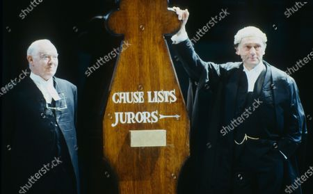 Editorial image of 'Mumuring Judges' Play performed in the Olivier Theatre, National Theatre, London, UK - 15 Apr 2020