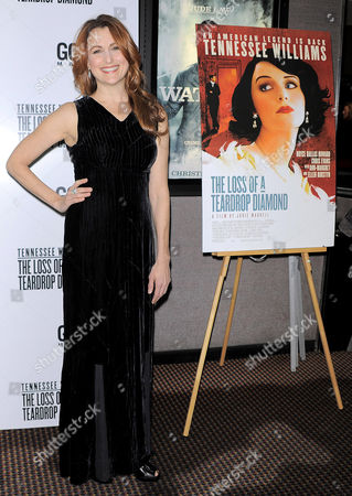 Editorial image of 'The Loss of a Teardrop Diamond' Film Premiere, New York, America - 10 Dec 2009