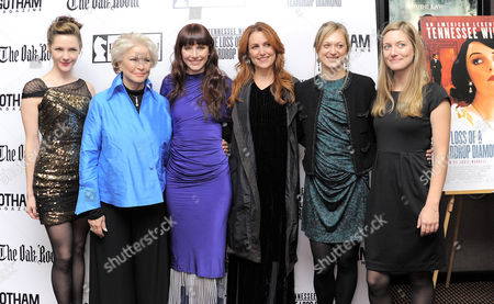 Stock Picture of Jessica Collins, Ellen Burstyn, Bryce Dallas Howard, Jodie Markell, Marin Ireland and Zoe Perry
