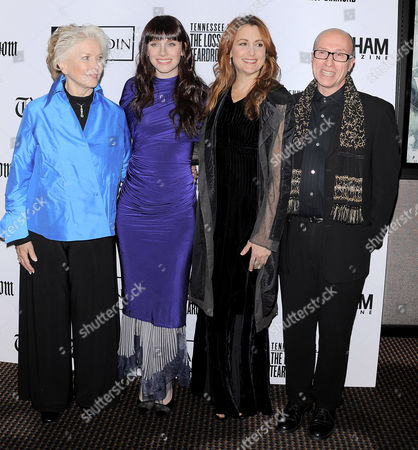 Ellen Burstyn, Bryce Dallas Howard, Jodie Markell and Mark Urman
