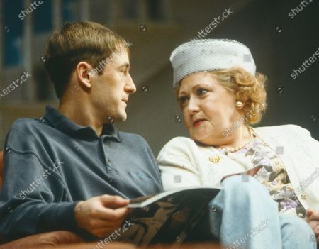 Editorial image of 'Straight and Narrow' Play performed at Wyndhams Theatre, London, UK 1992 - 16 Apr 2020