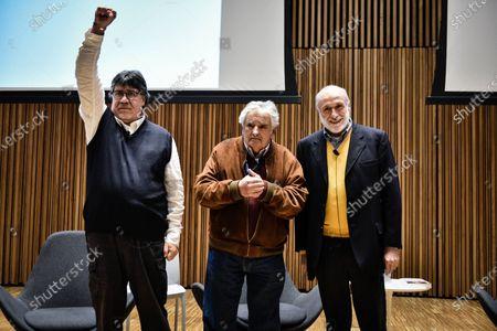 Luis Sepulveda, Pepe Muujica, and Carlo Petrini