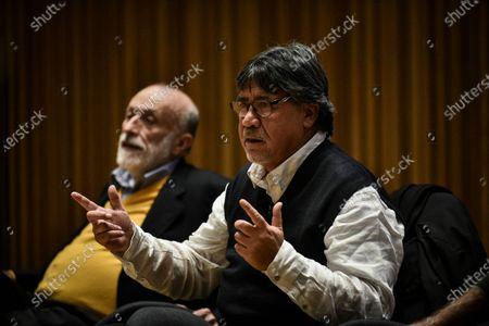 Carlo Petrini and Luis Sepulveda