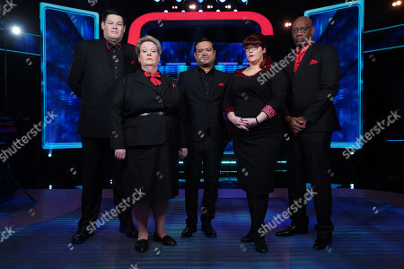 Mark Labbett, Anne Hegerty, Paul Sinha, Jenny Ryan and Shaun Wallace.