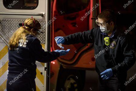 Editorial picture of Virus Outbreak Washington, Potomac, United States - 15 Apr 2020