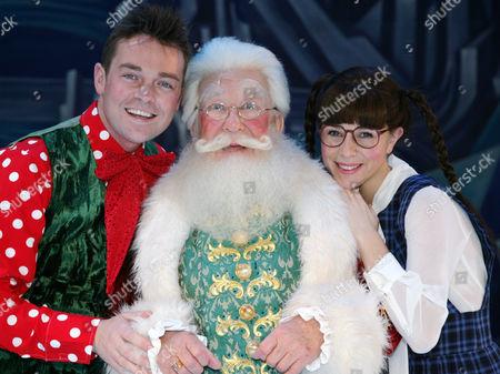 Stephen Mulhern as Stephen, Roy Barraclough as Santa and Marissa Dunlop as Chilli Fridge