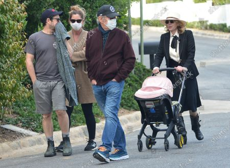 Stock Image of Exclusive - Steven Spielberg, JJ Abrams, Kate Capshaw and Katie McGrath