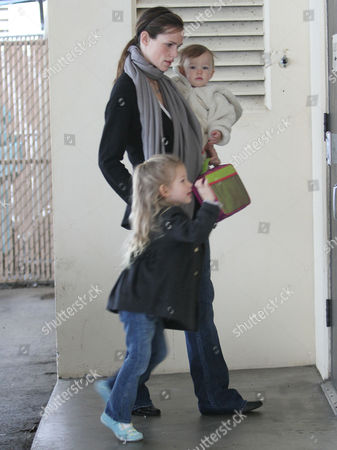 Editorial image of Jennifer Garner taking her daughter Seraphina Rose Elizabeth Affleck to a pre-school class, Santa Monica, Los Angeles, America - 11 Dec 2009