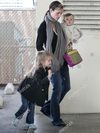 Editorial picture of Jennifer Garner taking her daughter Seraphina Rose Elizabeth Affleck to a pre-school class, Santa Monica, Los Angeles, America - 11 Dec 2009
