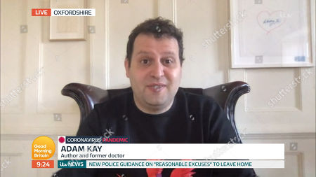 Stock Picture of Adam Kay
