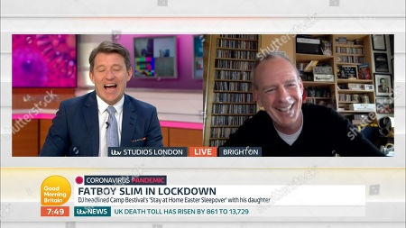 Fatboy Slim and Ben Shephard
