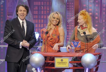 Jonathan Ross, Pamela Anderson and Vivienne Westwood