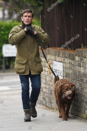 Editorial photo of Scott Maslen out and about, Hampstead, London, UK - 17 Apr 2020