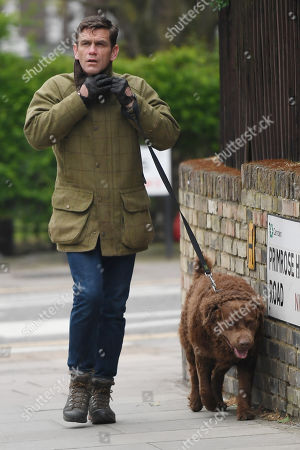 Editorial image of Scott Maslen out and about, Hampstead, London, UK - 17 Apr 2020
