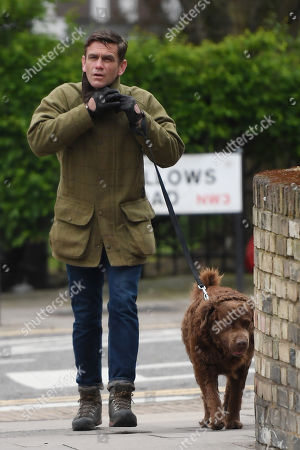 Editorial picture of Scott Maslen out and about, Hampstead, London, UK - 17 Apr 2020