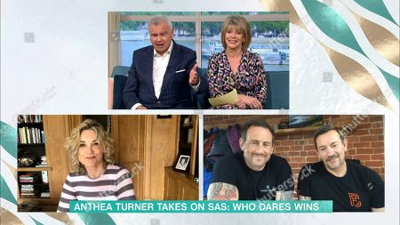 Eamonn Holmes and Ruth Langsford and Anthea Turner and Jason Fox and Ollie Ollerton