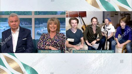 Editorial image of 'This Morning' TV show, London, UK - 17 Apr 2020