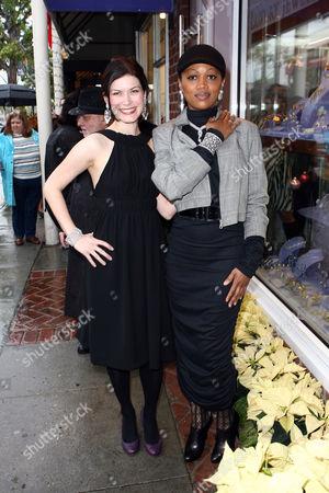 Lauren Maher and Theresa Randle