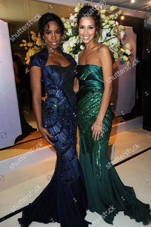 Stock Image of Kelly Rowland and Natalie Suliman