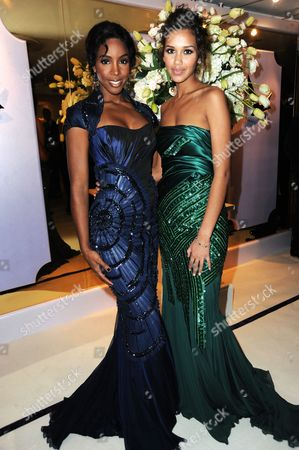 Kelly Rowland with Natalie Suliman