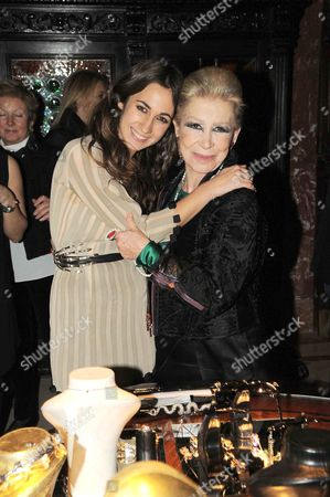 Delfina and Anna Fendi