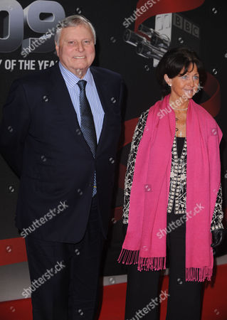 Peter Alliss with wife