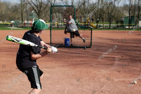 Editorial picture of Virus Outbreak Youth Sports, Zionsville, United States - 07 Apr 2020