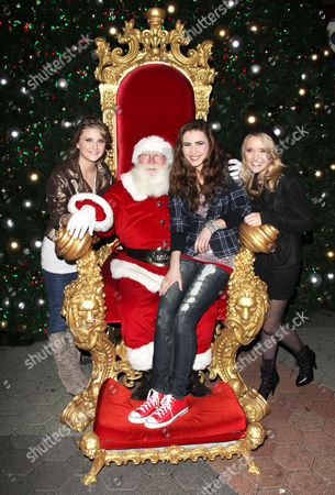 Stock Photo of Emily Osment, Savannah Outen and Celica Westbrook