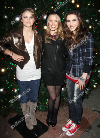 Stock Picture of Emily Osment, Savannah Outen and Celica Westbrook