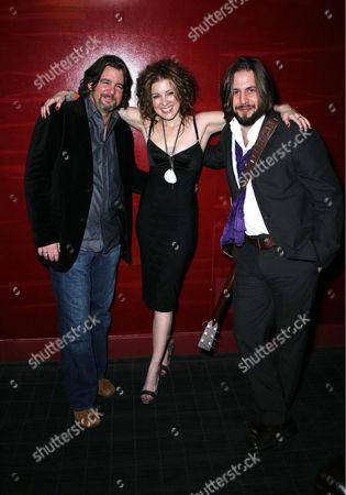 Sarah Buxton with Pete and Hugh