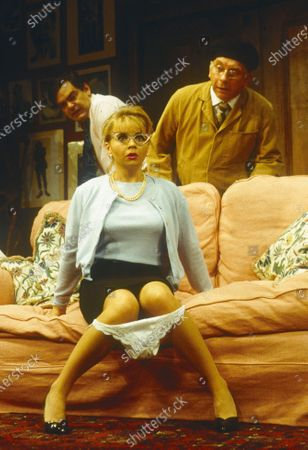 Stock Picture of Kevin McNally. Rebecca Lacey. Sam Kelly
